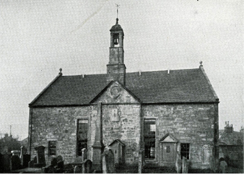 The Heritage Centre as the Ardrossan Parish Church. It closed as a church in 1908 when the new St Cuthbert's opened at the Glebe in Saltcoats.