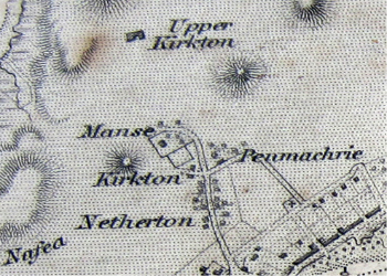 Kirkton from a map of 1846.