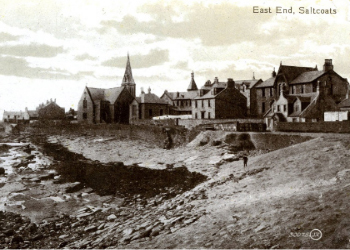 Landsborough Church in Saltcoats. Now the site of the Labour Social Club.
