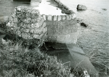 The Wishing Well flowing into the Firth.