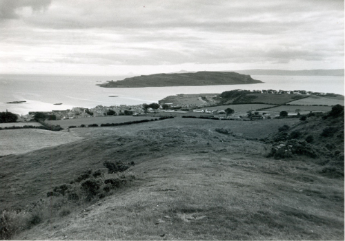 Little Cumbrae as viewed from behind Millport at Sheughans.