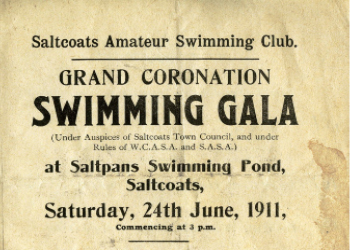 Swimming Club Gala in 1911.