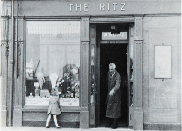 The Ritz Café when it originally opened.