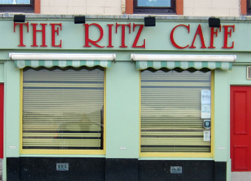 The Ritz Café in 2014.